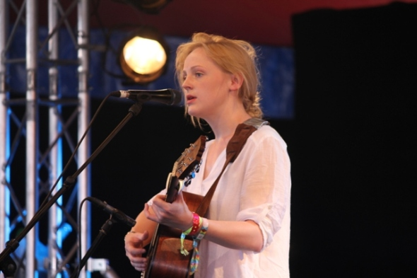 Laura at Glastonbury